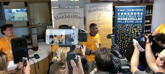 Concours des crus de Monbazillac, une très belle édition!