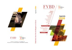 Agenda 2020 de la FVBD, un compagnon pour l'année.