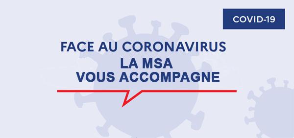 MSA, mesures Covid-19