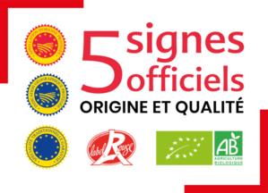 1er mémento des signes officiels de la qualité et de l'origine de la région Nouvelle-Aquitaine