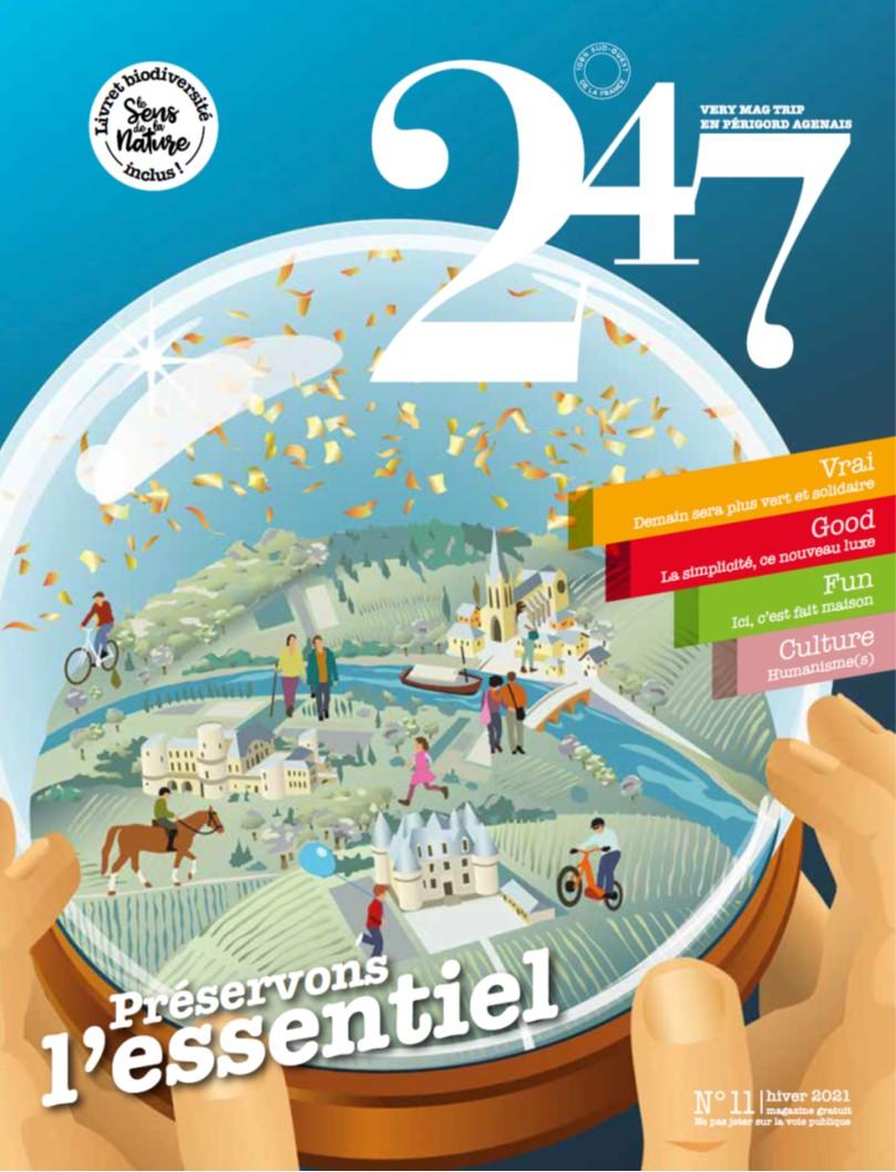LE NOUVEAU MAG 247 HIVER 2020-2021 EST ARRIVE!