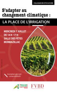 Colloque viticulture à Bergerac et Duras